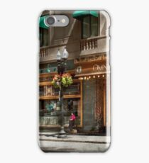 City - MA Boston - Meet me at the Omni Parker clock iPhone Case/Skin