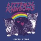 Kittens & Rainbows by wytrab8