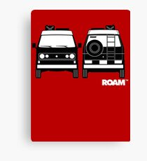 ROAM  Syncro 4x4 Dirtbag Motel Canvas Print
