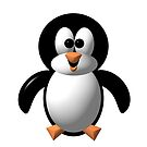 Cute Pengie The Penguin by Artist4God