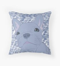Geoff on Sea Throw Pillow