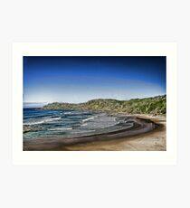 The Beach Lusicart Art Print