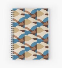 Aqua Flow Spiral Notebook