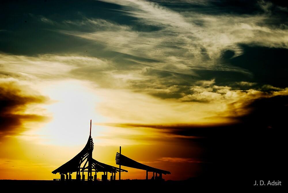 Sanctuary Sunset by J. D. Adsit