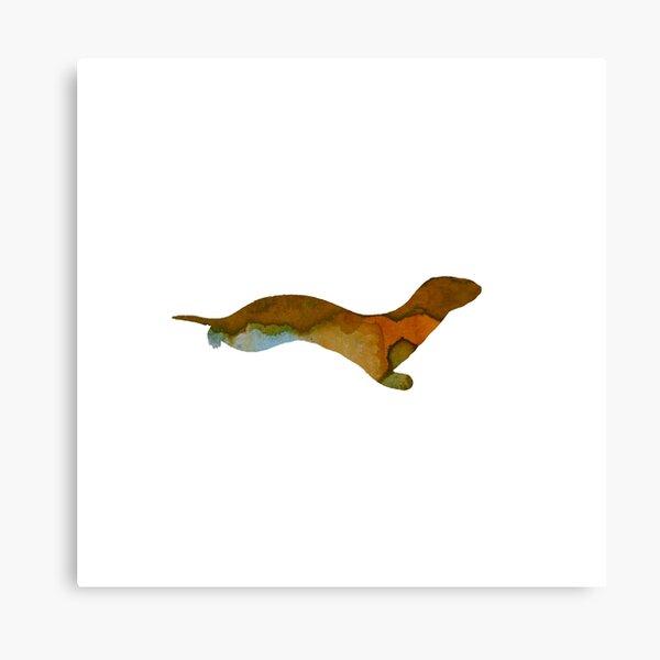 Ferret Art Canvas Print