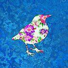 Floral BlackBird von Nipp3