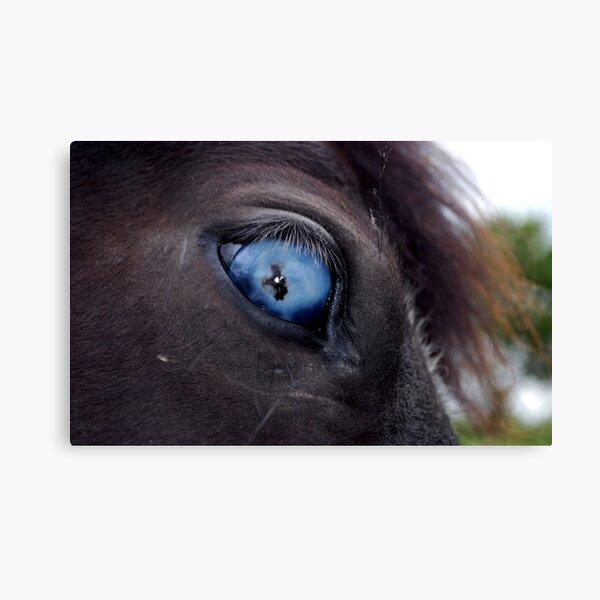 Blind Eye Canvas Print