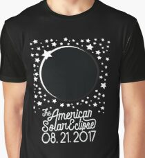 Solar Eclipse 2017 Shirt - The American Total Solar Eclipse Starfield - August 21, 2017 Graphic T-Shirt