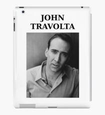 Nicolas Travolta... John Cage... WTF? iPad Case/Skin