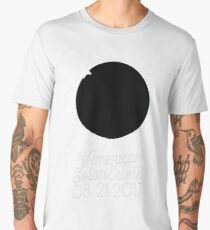 Solar Eclipse 2017 Shirt - The American Total Solar Eclipse Starfield - August 21, 2017 Men's Premium T-Shirt