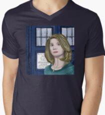 Doctor Whittaker Men's V-Neck T-Shirt