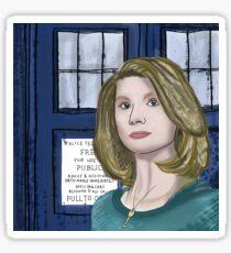 Doctor Whittaker Sticker
