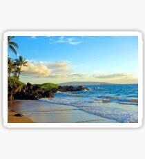 Makena Surf Beach Study 1  Sticker