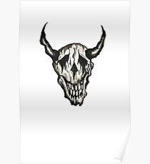 Skull Shirt Poster