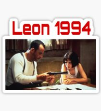 Leon 1994 Movie Shirt (Léon : The Professional) Sticker