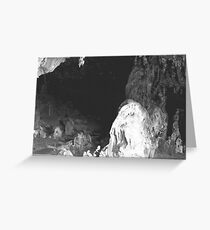 Abercrombie Caves, NSW. Greeting Card