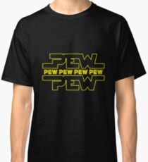 Pew Pew Pew Art Design Classic T-Shirt