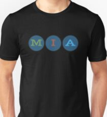 MIA Miami 3 dots Citytime City Time T-Shirt