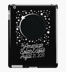 Solar Eclipse 2017 Shirt - The American Total Solar Eclipse Starfield - August 21, 2017 iPad Case/Skin
