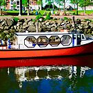 Harbour  Tour Boat, Charlottetown, PEI, Canada by Shulie1
