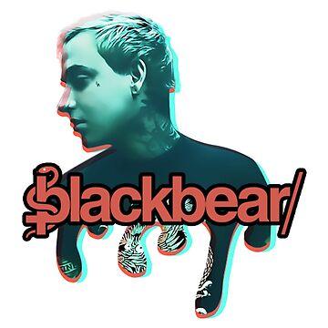Blackbear fanmade design by chewsy