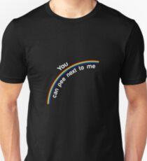 Pee Next To Me Art Design T-Shirt