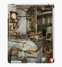 Steampunk - In the engine room iPad Case/Skin