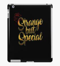 Strange but Special iPad Case/Skin
