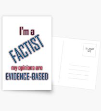 I'm a Factist Postcards