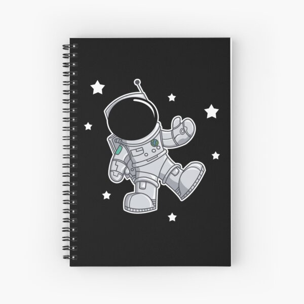 Floating in Space Spiral Notebook