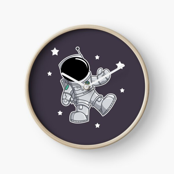 Floating in Space Clock