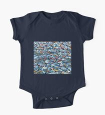 Colorful Beach Shells in Sand Kids Clothes
