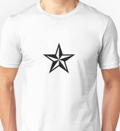 Nautical Star (black print) T-Shirt
