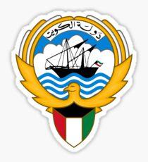 Kuwait Emblem Sticker