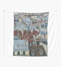 Rooftops of Paris #2 Wall Tapestry