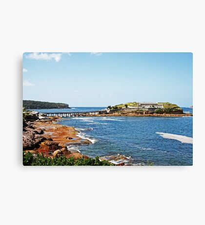Bare Island Fort Canvas Print