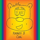 Kindness Is Cool Card - Rainbow by RippleKindness