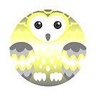 Demigender Pride Owl by FurvaNoctua