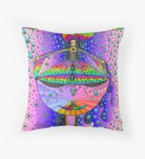 Alchemy of the Grail Throw Pillow