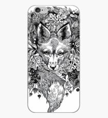 Hidden fox  iPhone Case