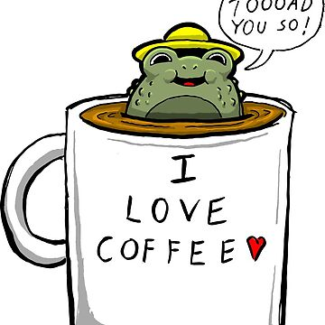 Coffee Toad by tduffy