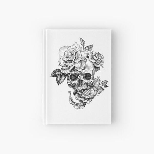 Skull And Roses Hardcover Journal