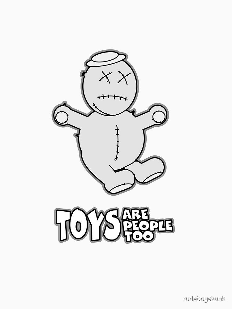 Toys Are People Too - Harry by rudeboyskunk