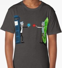 RICKTIONS IN TIME AND SPACE Long T-Shirt