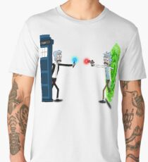 RICKTIONS IN TIME AND SPACE Men's Premium T-Shirt