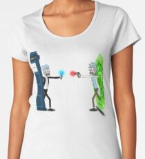 RICKTIONS IN TIME AND SPACE Women's Premium T-Shirt