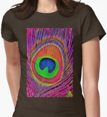 Peacock feathers 5. Womens Fitted T-Shirt