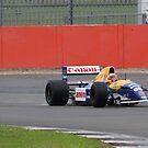 Williams FW14B, Stowe corner, Silverstone by PathfinderMedia