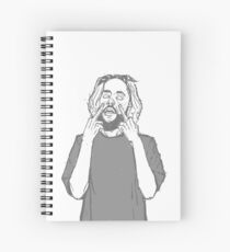 Suicide Boys Scrim Spiral Notebook