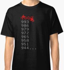 """What's 1000 Minus 7?"" Classic T-Shirt"